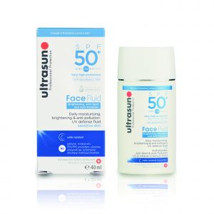 ULTRASUN SPF50+ Anti Pollution Face Fluid